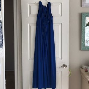 NWT Electric blue Chico's long dress